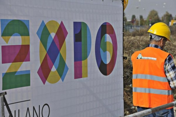 EXPO 2015 Milan makes herself pretty for EXPO 2015