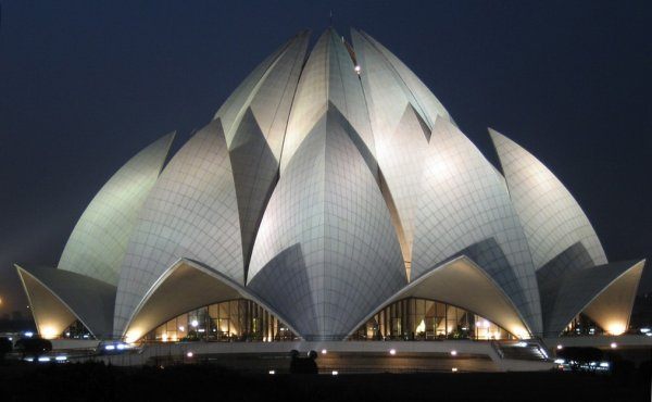 Amazing buildings in the world: Lotus Temple
