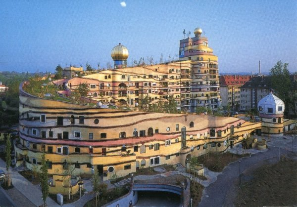 Amazing buildings in the world: Forest Spiral Hundertwasser